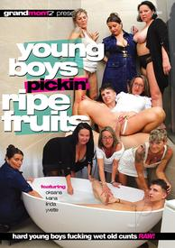 Young Boys Pickin Ripe Fruits