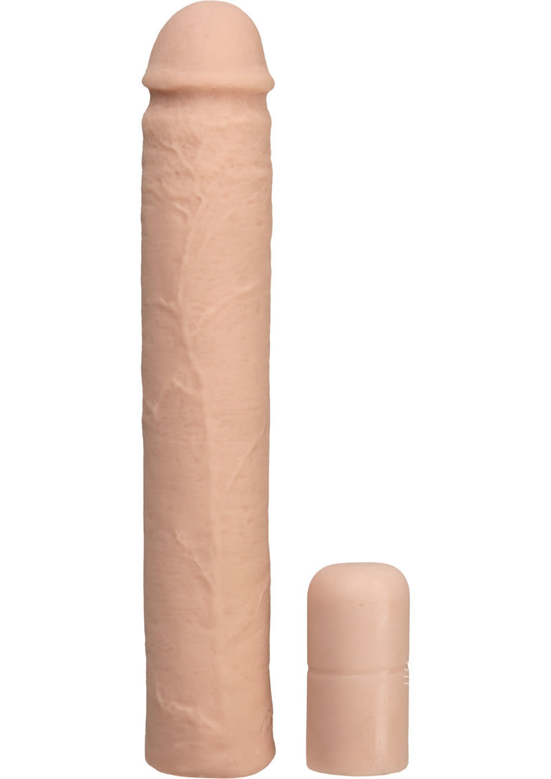 Xtend It Kit Realistic Penis Extender White 9 Inch