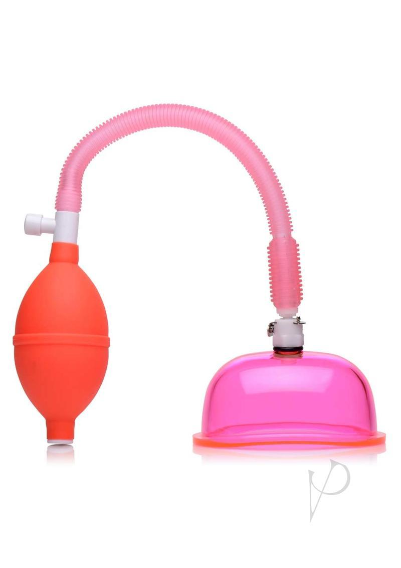 Size Matters Vaginal Pump With 3.8in Small Cup - Pink