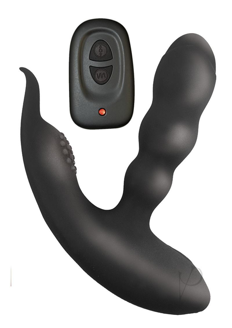 Anal Ease Coll Remote Control Pspot Blk Prostate Stimulator